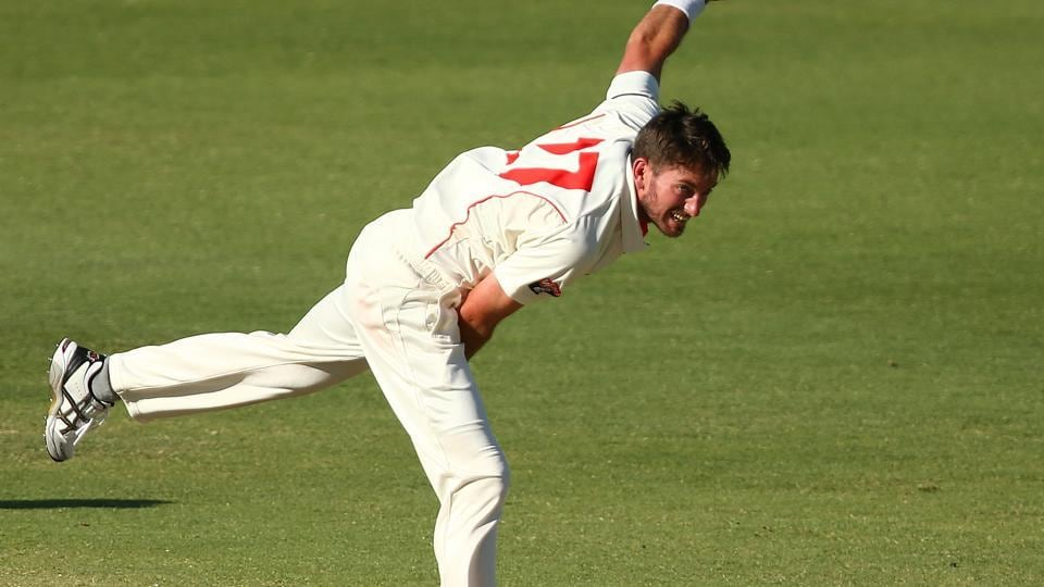 Chadd Sayers has had a good run in the Sheffield Shiled but has been excluded for the South Africa Tests starting in March.