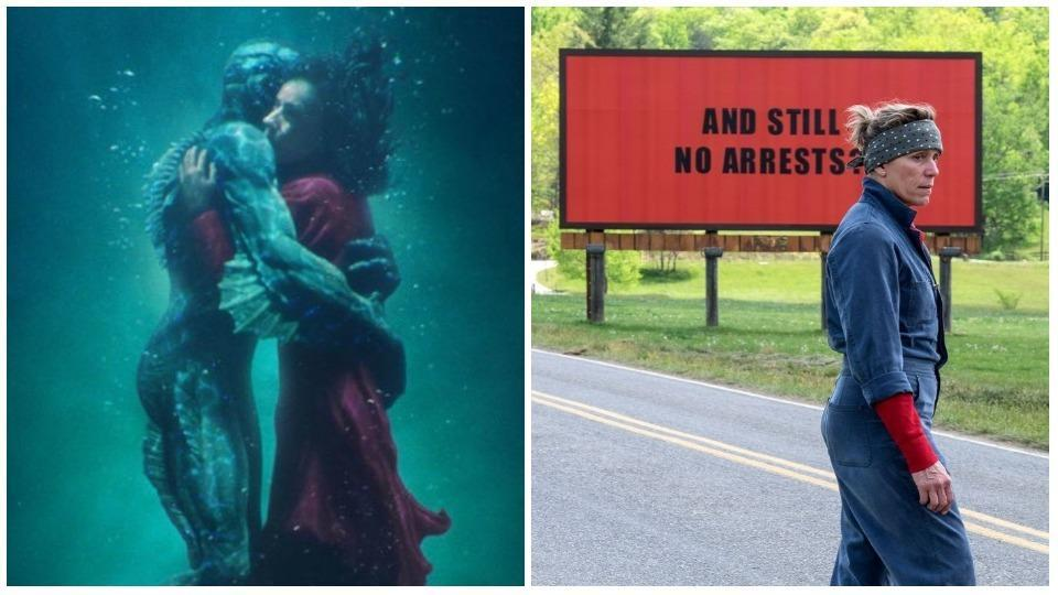 The Shape of Water and Three Billboards will release in India in February.