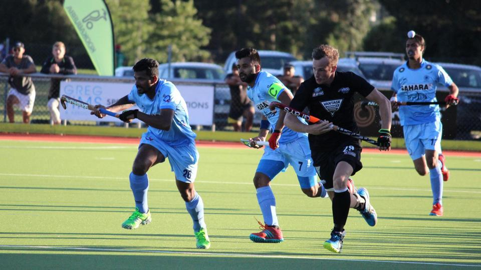 India prevailed 3-2 over New Zealand in the second leg of the four-nation hockey tournament.