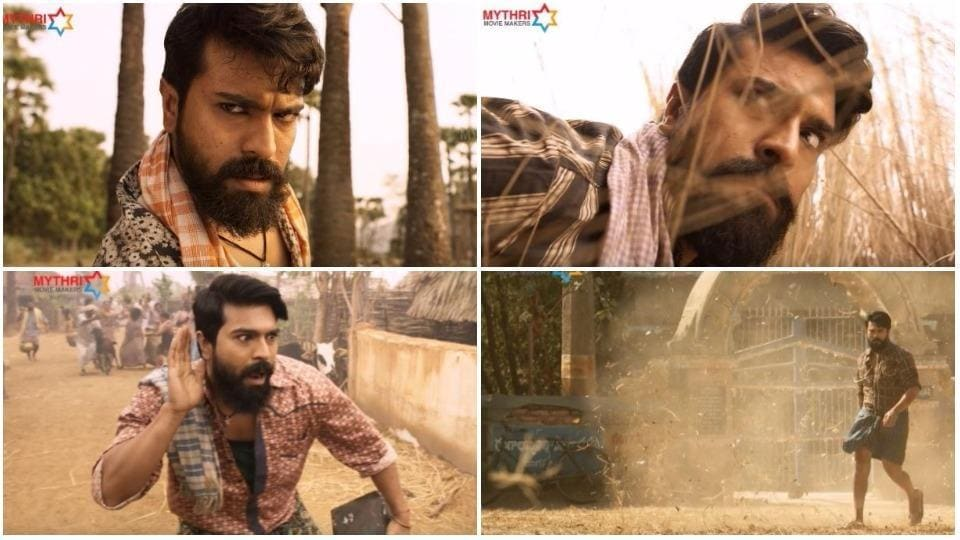 Rangasthalam 1985 teaser: Make way for Ram Charan as Chitti Babu.