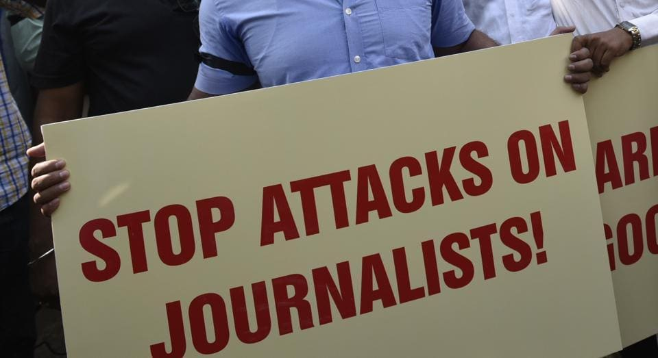 Biplap Dey, a freelance journalist, was attacked and his camera and mobile phone damaged by alleged timber smugglers on Tuesday night.