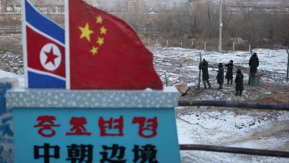China,North Korea,US