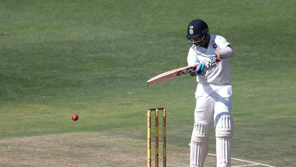 Pujara held one end and scored a half-century.  (BCCI )