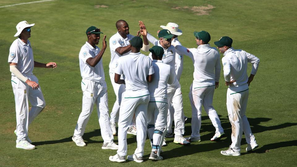 South Africa rode on a disciplined bowling effort to skittle out India for a paltry 187 in their first innings on the opening day of the third and final Test at the Wanderers Stadium in Johannesburg. (BCCI )