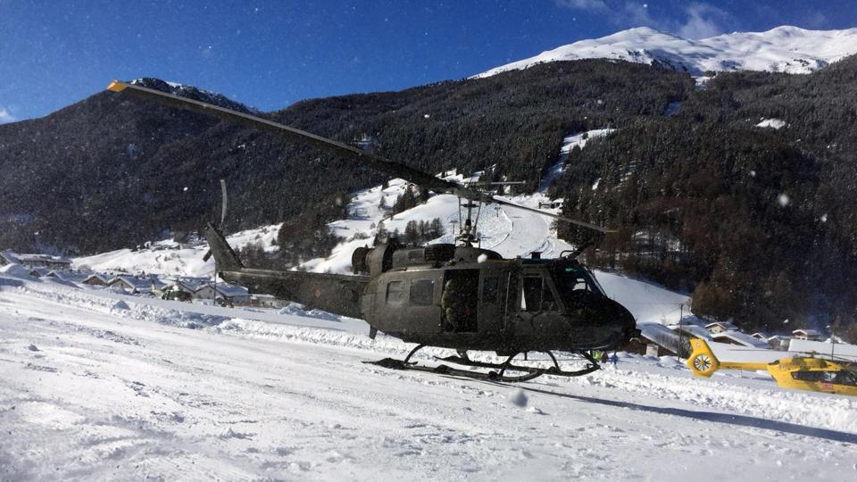 Italy,Alps,Avalanche