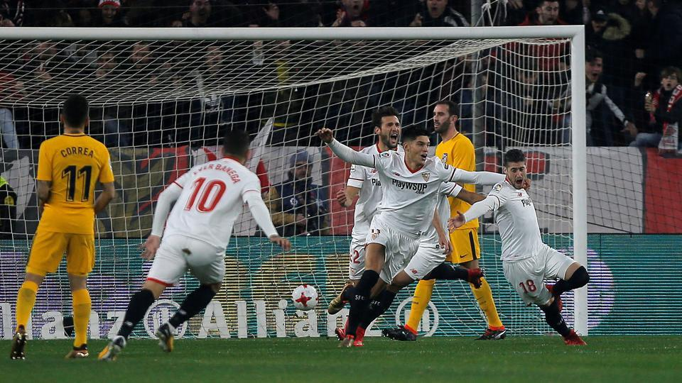 Copa del Rey match report Sevilla v Atletico Madrid 23 January 2018