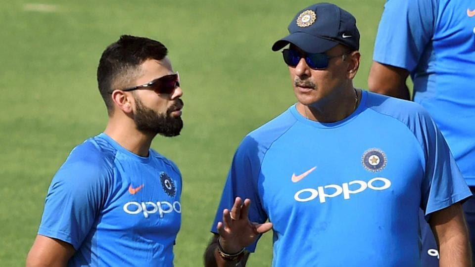 Virat Kohli,Ravi Shastri,India vs South Africa