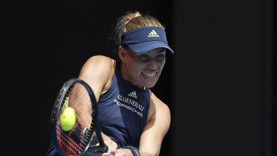Angelique Kerber of Germany defeated Madison Keys of the U.S. 6-1, 6-2. (REUTERS)