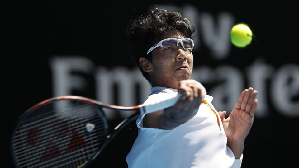 Hyeon Chung became the first South Korean player ever to enter the semi-final of a Tennis Grand Slam event.