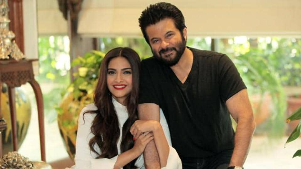 Anil Kapoor, daughter Sonam begin shooting for Vidhu Vinod Chopra's next