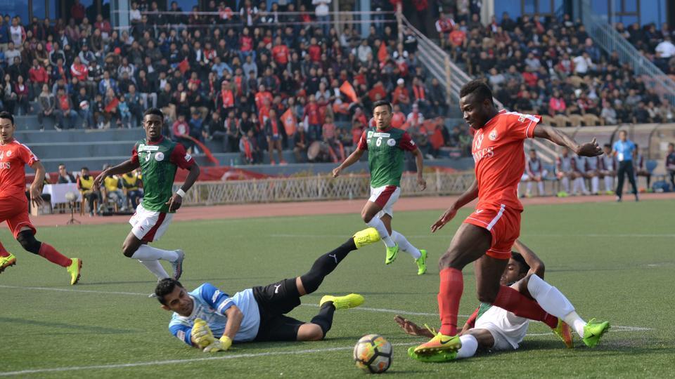 I-League,Mohun Bagan A.C.,Aizawl F.C.