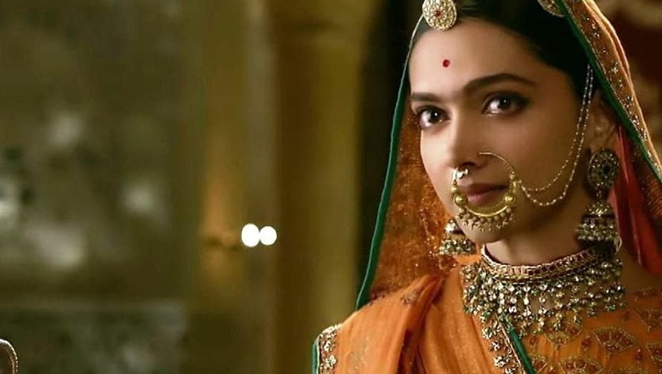 Deepika Padukone in a still from Padmaavat.