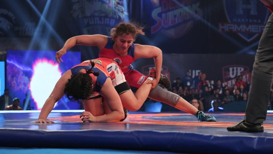 Haryana Hammers defeated UPDangal to enter the Pro Wrestling League.
