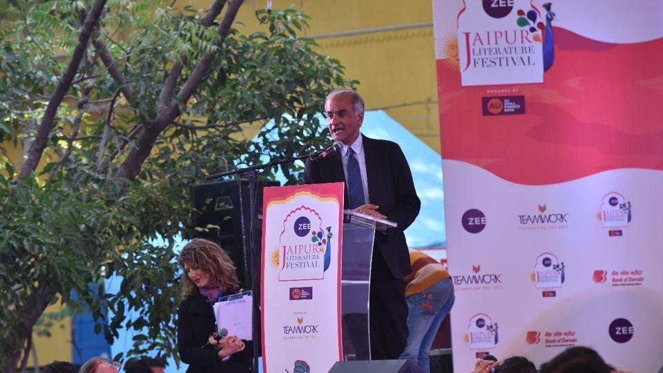 British-born writer Pico Iyer during his key note address.
