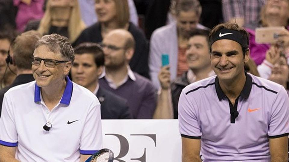 Roger Federer – a 19-time Grand Slam champion – will take to the court alongside Microsoft co-founder Gates at 'Match for Africa 5' in San Jose on March 5.