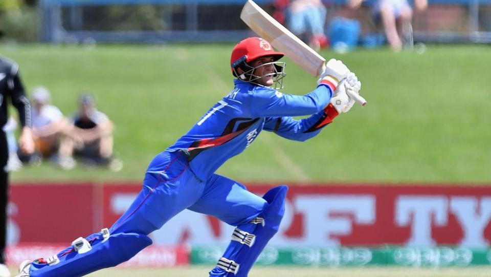 Afghanistan started the game solidly and looked set for a big score.  (ICC-Getty Images)