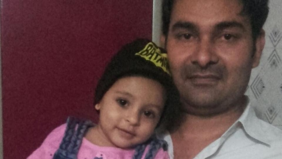 Ariba Khan with her father Naushad