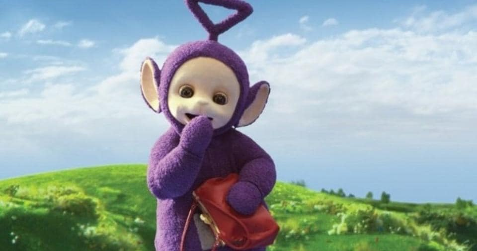 Simon Shelton Barnes played Tinky Winky for three years.