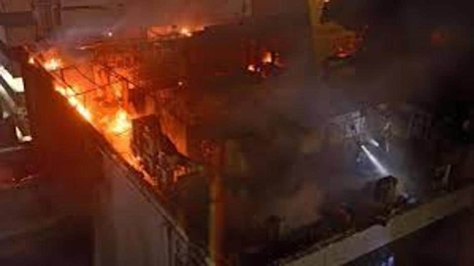 The fire killed 14 people and injured 55.