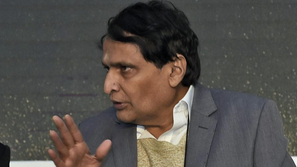 Union minister of commerce and industry Suresh Prabhu.