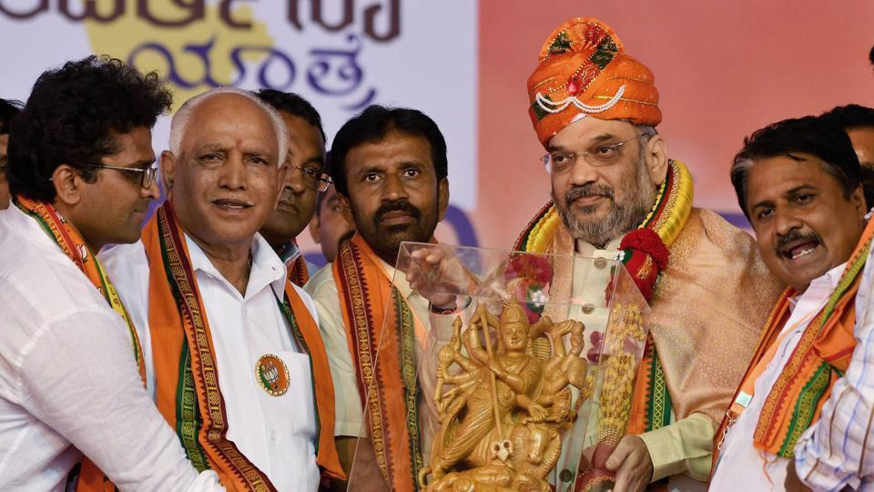 Amit Shah,Siddaramaiah,Karnataka