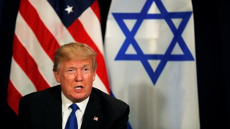 US President Donald Trump meets with Israeli Prime Minister Benjamin Netanyahu during the World Economic Forum (WEF) annual meeting in Davos, Switzerland on January 25.