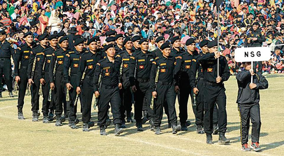 National Security Guard (NSG) commandos will be trained in geo-strategic affairs. (HTPhoto)