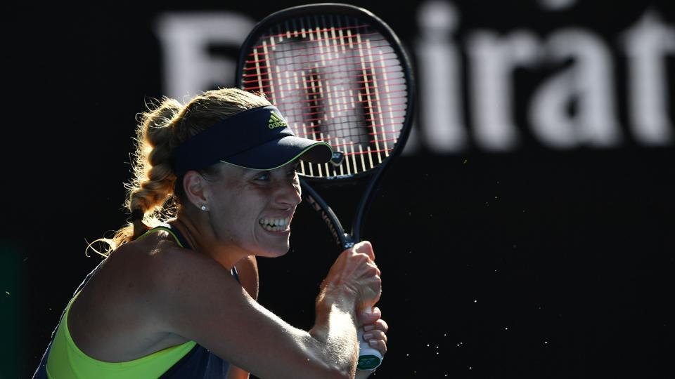 Angelique Kerber lost to Simona Halep in the semis of the Australian Open.