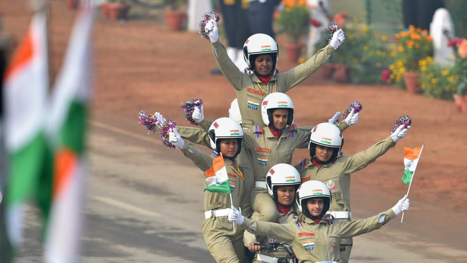 Watch BSF's all-female 'Daredevils' team showcasing women power in military