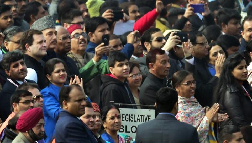 Rahul Gandhi,Rahul Gandhi Republic Day,Republic Day parade