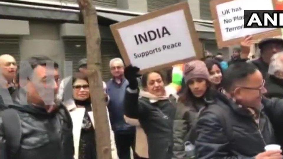 Republic Day,protests in London,United Kingdom
