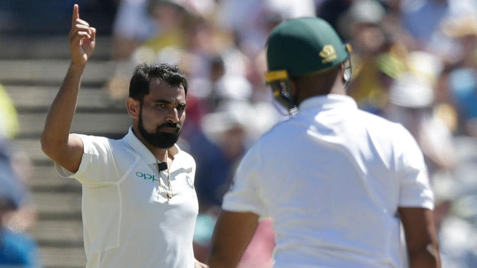Mohammed Shami took Aiden Markram's wicket on Day 3 of the third Test between South Africa and India at Wanderers cricket ground in Johannesburg. Catch full cricket score of day 3 of the third Test between India vs South Africa here.