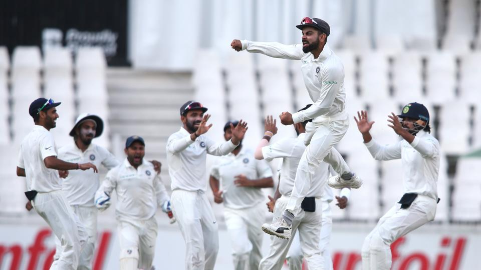 In reply, Aiden Markram (4) failed for the second time in the Test when he edged a rising ball from Mohammed Shami to wicketkeeper Partiv Patel to give India an early breakthrough. (BCCI )