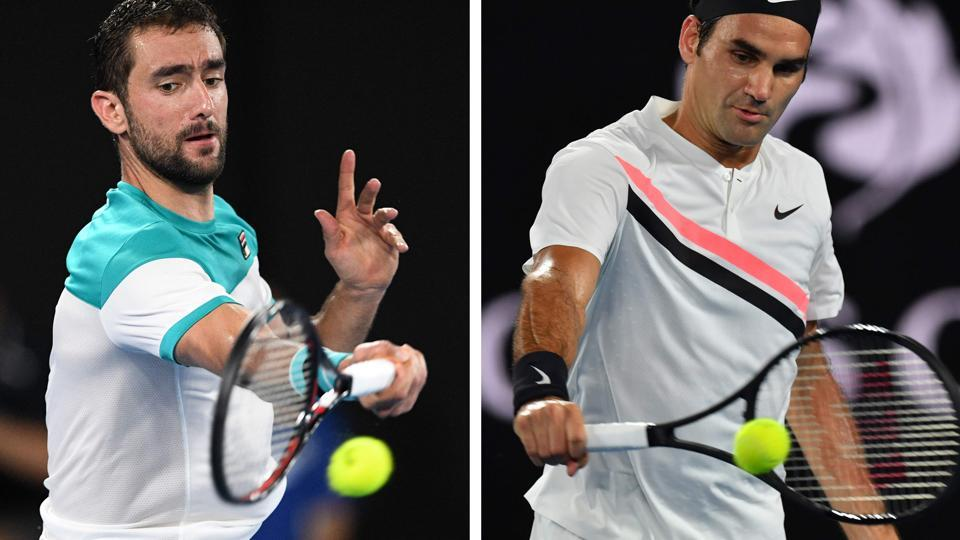 Defending champion Roger Federer, who beat CHung Hyeon in the semis, will face Croatia's Marin Cilic in the men's singles final of the Australian Open 2018 on Sunday.