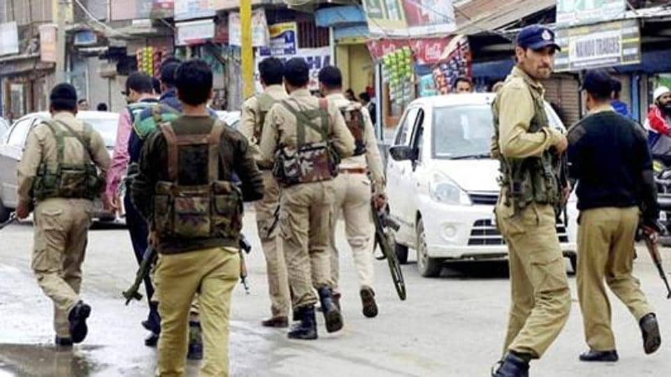 A high alert was sounded in the valley two days ahead of Republic Day.