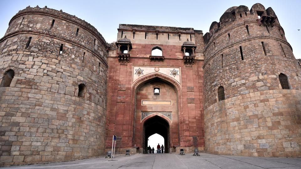 A view of Purna Qila.  The site witnessed the rise and fall of two dominant empires, Mughal and Sur, but is also linked with ancient civilisations.