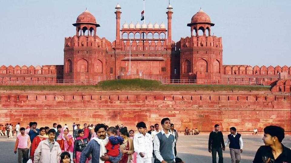At the centre of this settlement was Qila-i-Mubarak (Red Fort), the palace-fortress. The city was encircled with a wall with 14 gates, from where Shahjahanabad gets its sobriquet of Walled City.