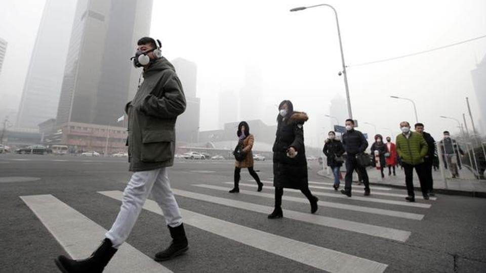 China,Beijing,Air Pollution