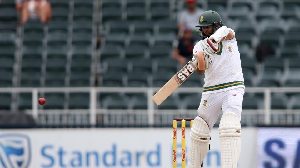 Hashim Amla scored a half-century and resisted the Indian bowlers for close to two sessions. (BCCI)