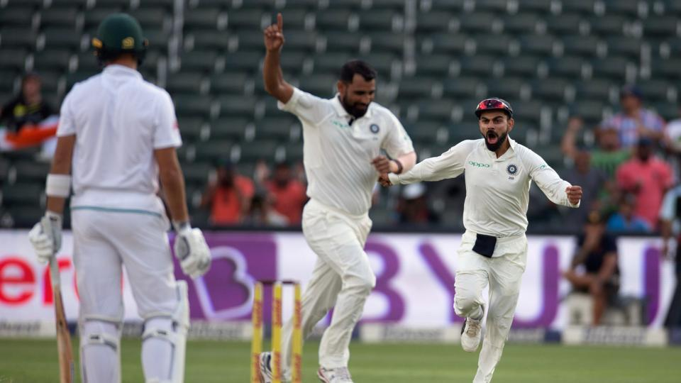Mohammed Shami broke South Africa's back with a five-wicket haul. (REUTERS)
