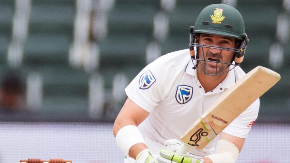 South Africa's Dean Elgar scores fighting fifty against India in Johannesburg Test - cricket - Hindustan Times