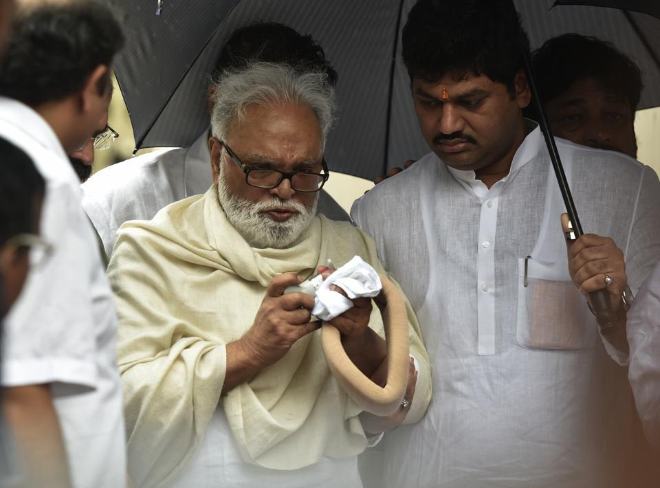 Nationalist Congress Party leader Chhagan Bhujbal