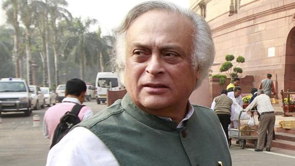 Former environment minister Jairam Ramesh alleged that Prime Minister Narendra Modi did not practise what he preached regarding green conservation.