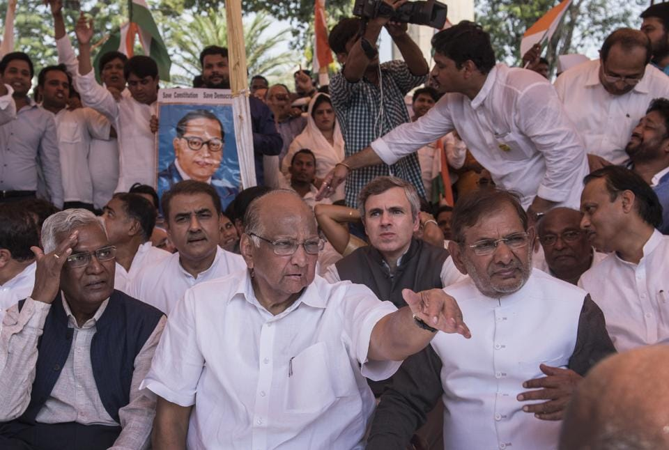 Pawar calls Opp meet for 'save Constitution' anti-BJP unity bid