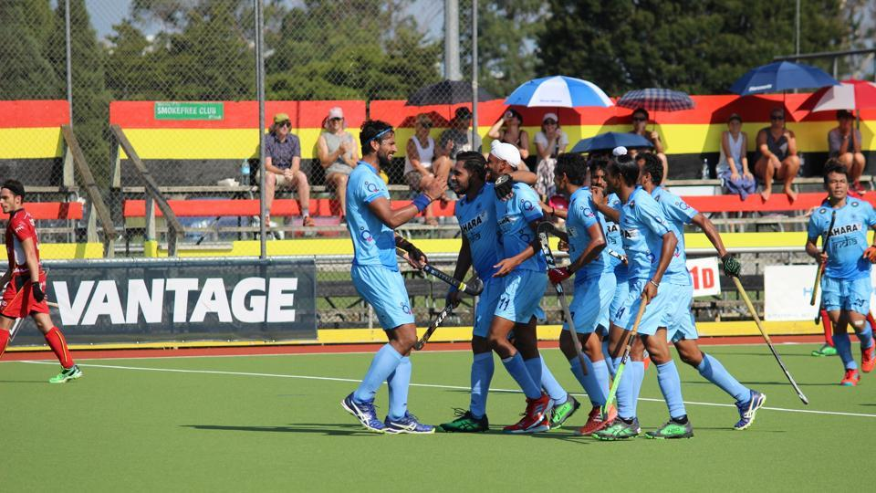 The Indian hockey team lost the four-nation invitational tournament final to Belgium on Sunday.