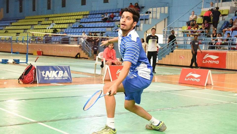 City-based shuttler Pratul Joshi