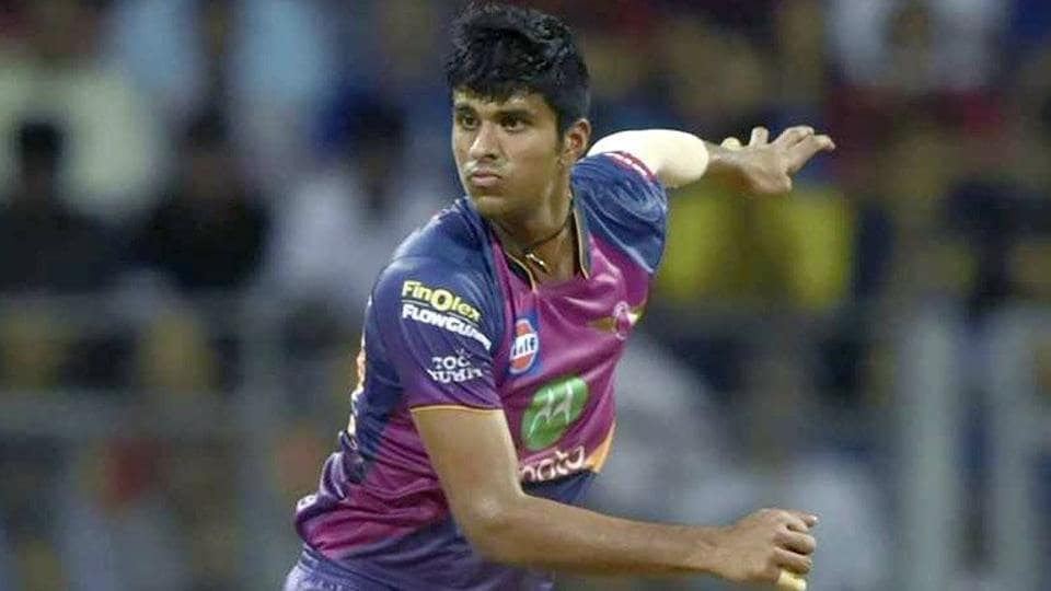 Washington Sundar will play for Royal Challengers Bangalore (RCB) in the 2018 edition of the Indian Premier League (IPL).