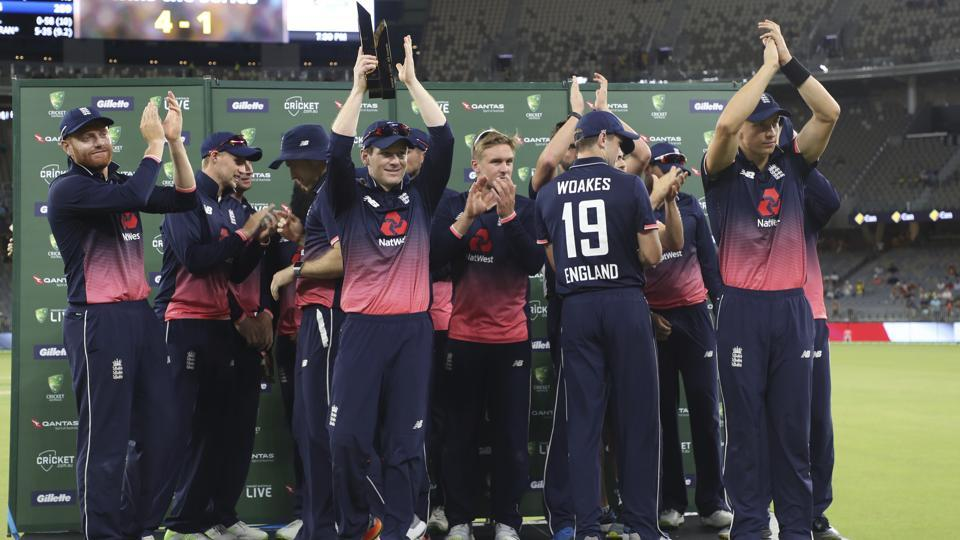 England beat Australia by 12 runs in the fifth and final ODIin Perth on Sunday. Set 260 to win, the hosts were dismissed for 247, with Tom Curran claiming 5/35 as England won the series 4-1.