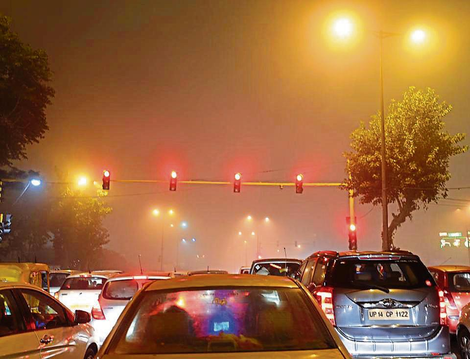 On Sunday too, a dense fog had covered Delhi. While visibility at Safdarjung had dropped to around 100m, at Palam the visibility was around 50m around 8.30am.