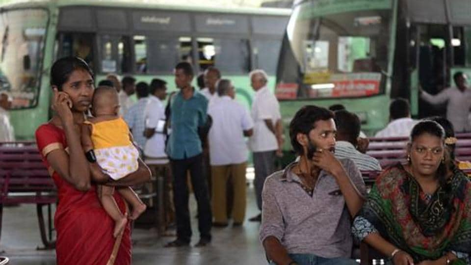 Tamil Nadu has been witnessing protests ever since the government increased bus fares on January 20.